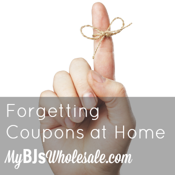 Forgetting Coupons at Home