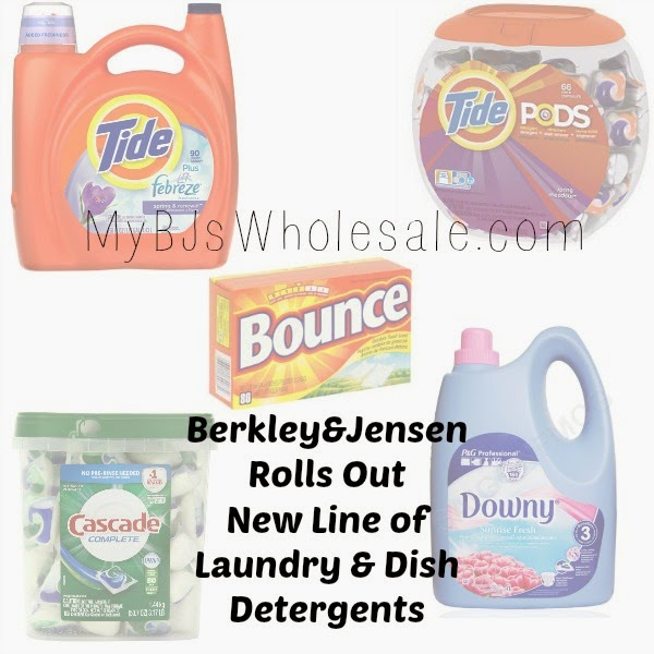 New Berkley Jensen Line of Laundry and Dish Detergents
