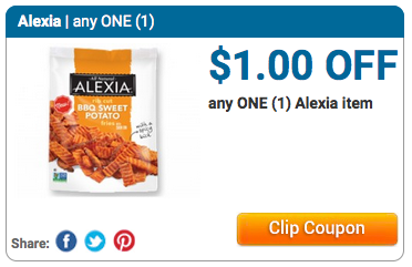 Alexia coupons printable