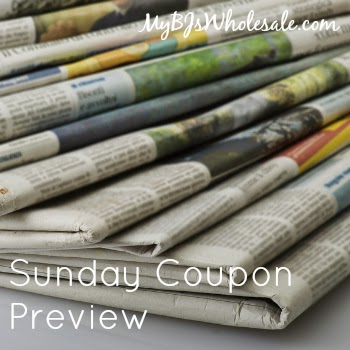 Sunday Coupon Preview for April 12, 2015