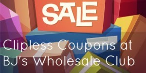 BJs Wholesale Club Clipless Coupons