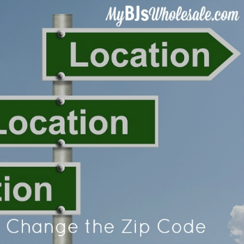 How to Change the Zip Code on Coupons.com