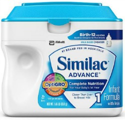 $2/1 Similac coupon + Scenario