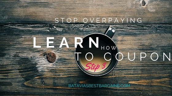 learn how to coupon step 3