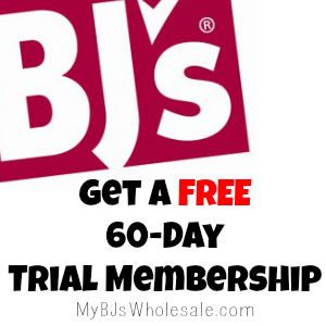 FREE 60-Day BJs Membership