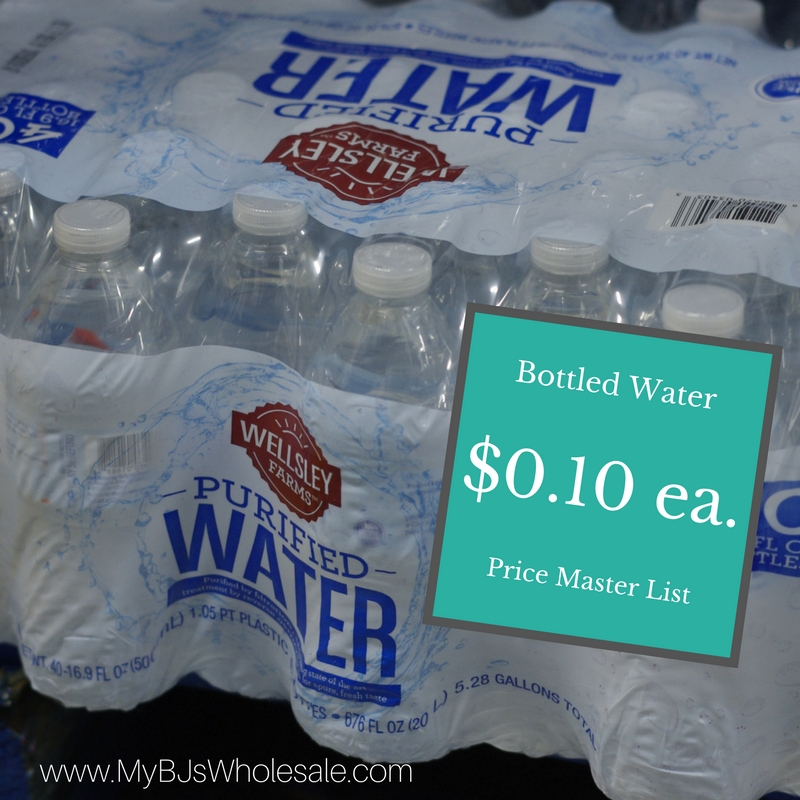 Bottled Water Prices At Bjs Buy In Bulk To Save Money