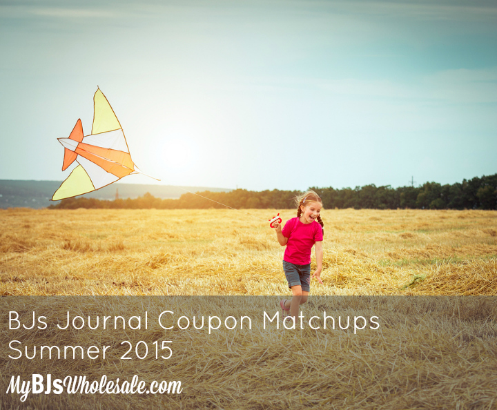 BJs Journal Coupon Matchups Summer 2015