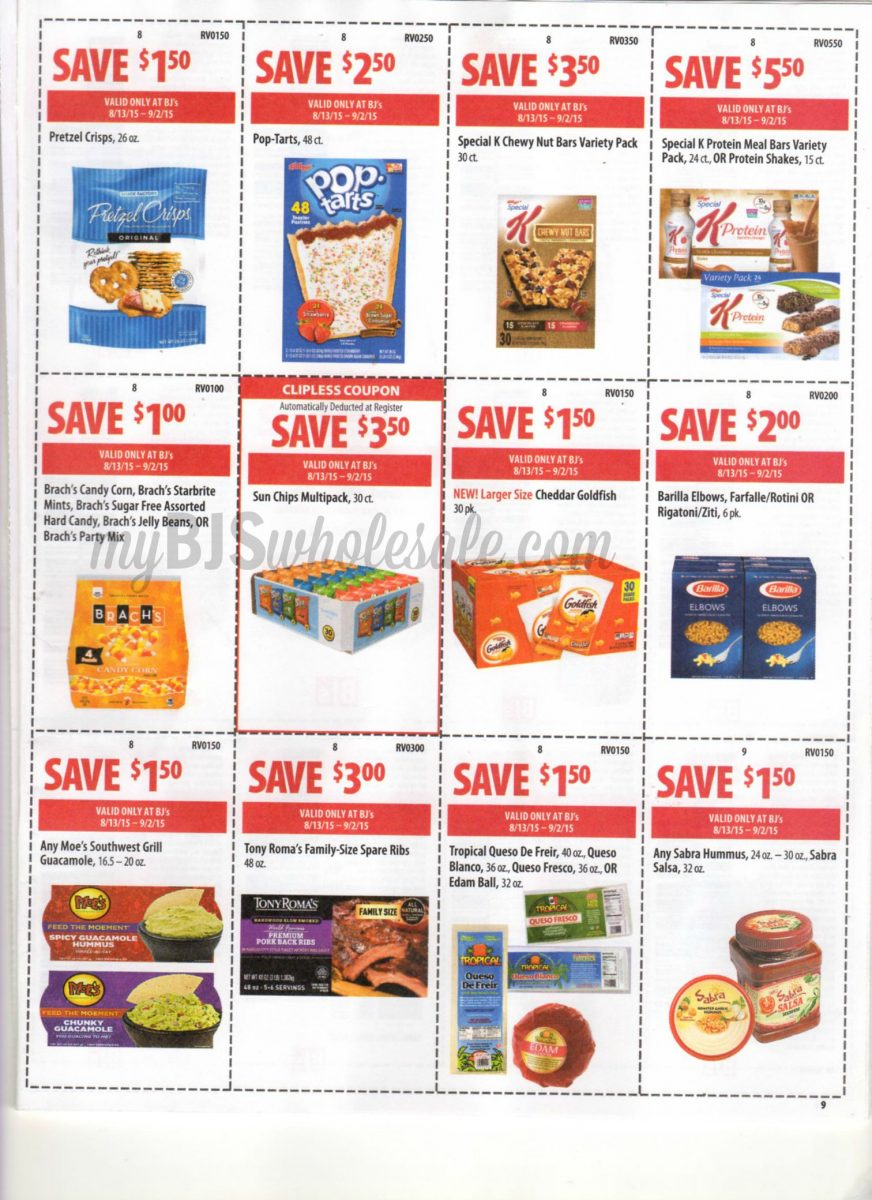 Bjs in store coupons