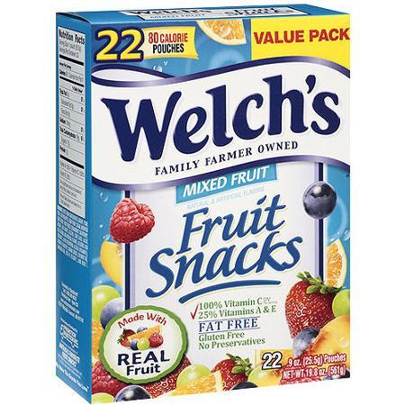 welch's fruit snacks deal at bjs