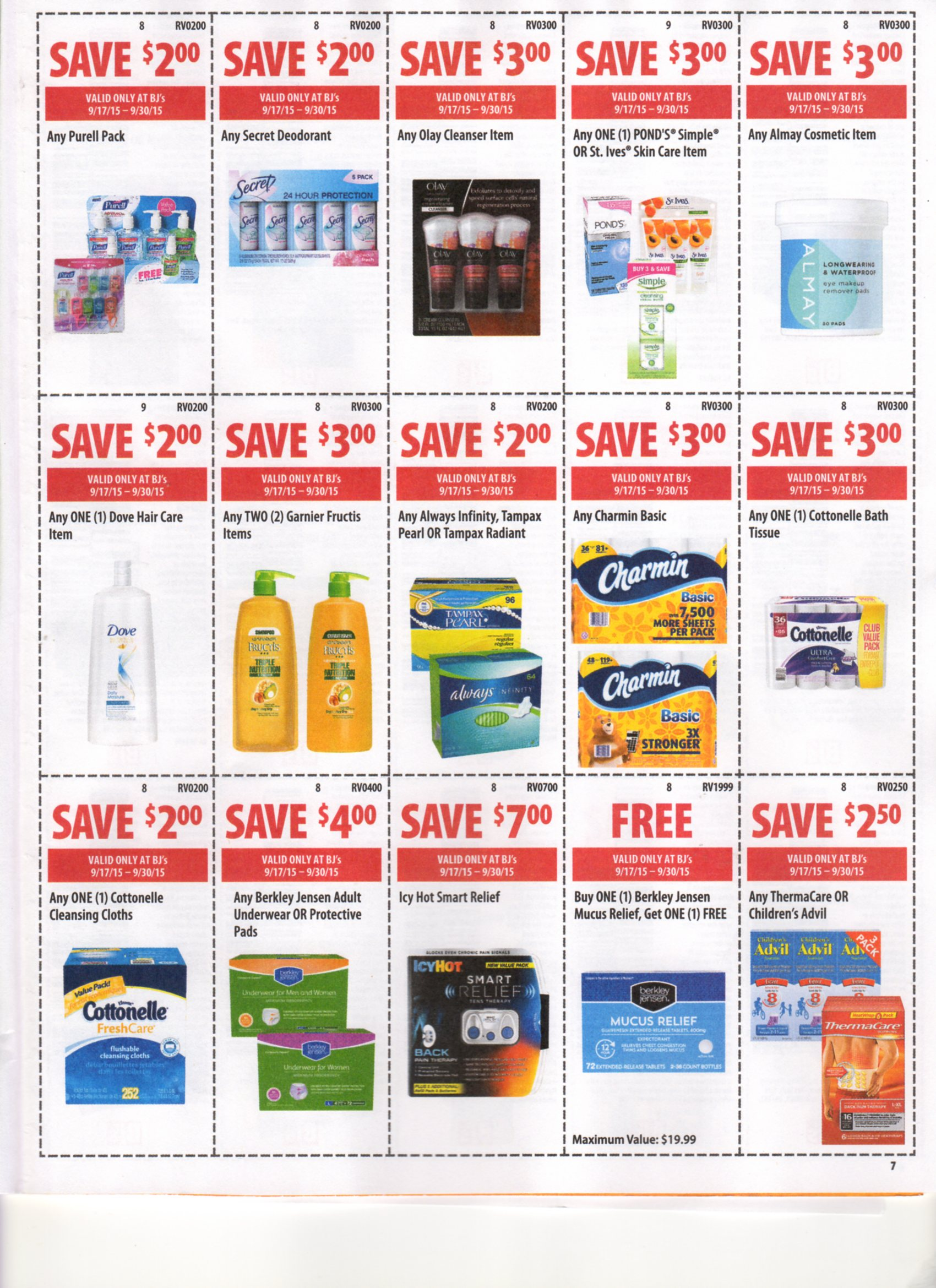 image relating to Bjs Printable Coupons referred to as BJs Entrance of Doorway Coupon Matchups 9/17-9/30/15 My BJs
