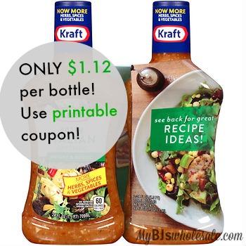 Kraft salad dressing coupons canada
