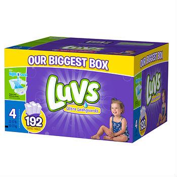 Luvs Diapers at BJs Wholesale club