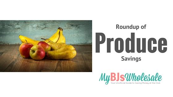 produce savings