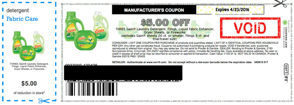 image about Gain Printable Coupons named Very hot* $5/3 Revenue Printable Coupon furthermore Stack with BJs Coupon