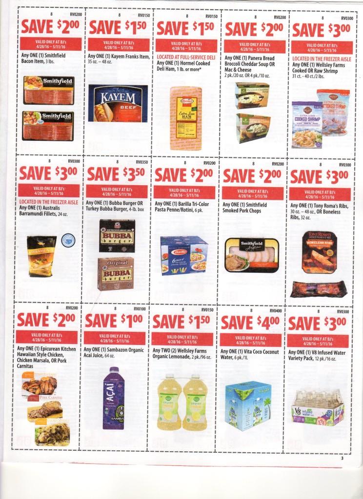 Bj's wholesale club coupon books