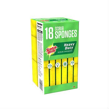 scotch brite heavy duty sponge good deal at bjs