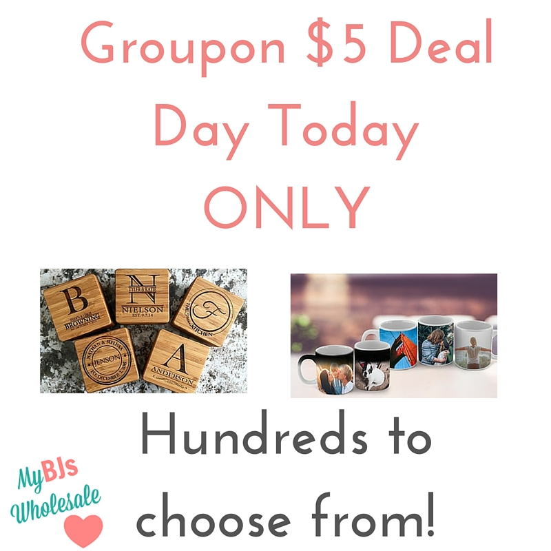 groupon $5 day deals today only