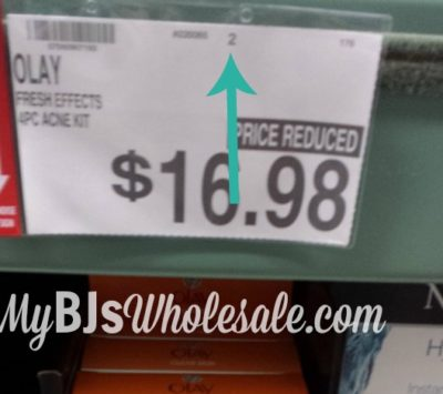 BJ's pricing system