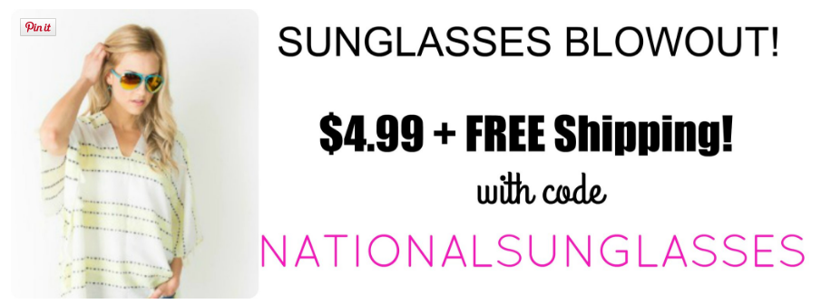 sunglasses sale cents of style only $4.99