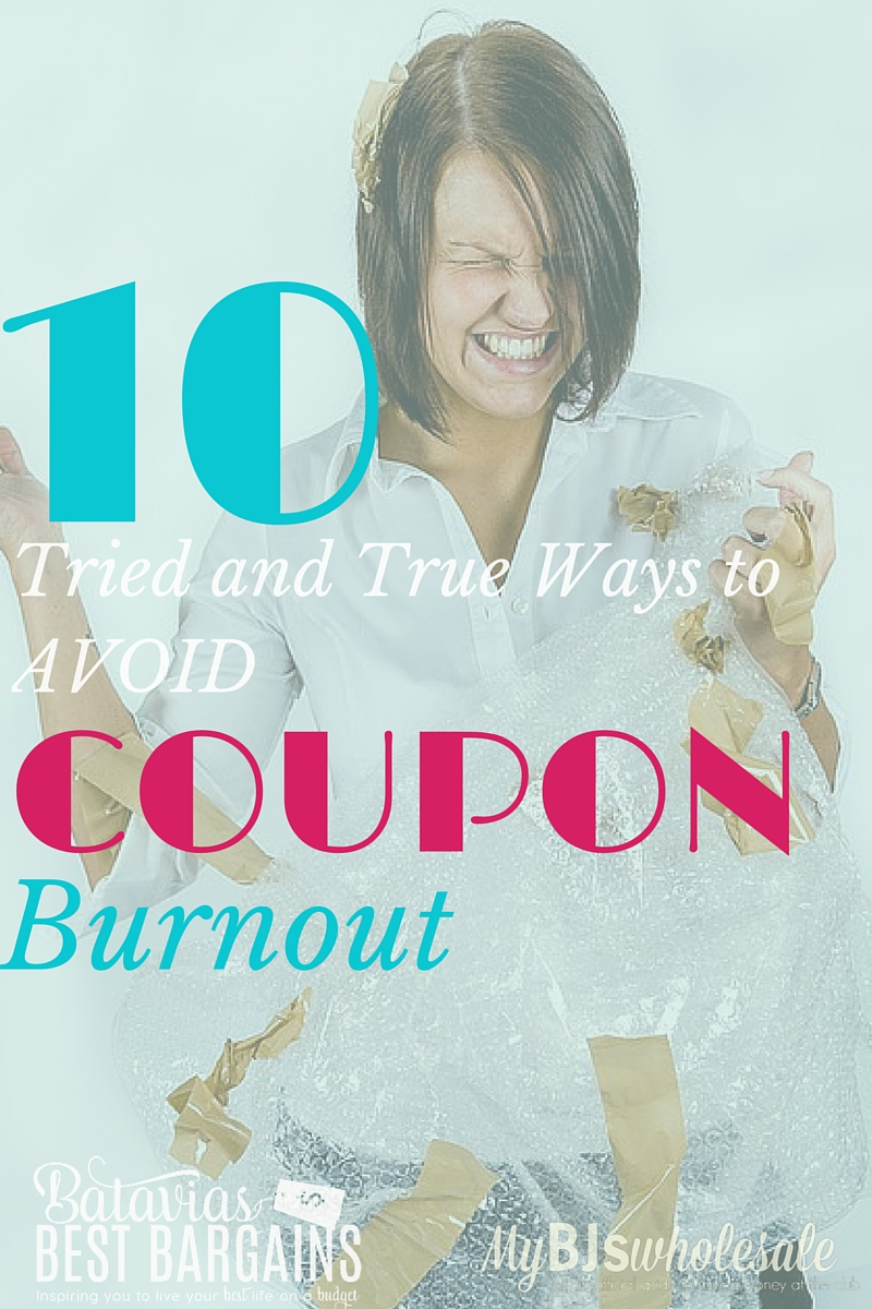 How to avoid coupon burnout