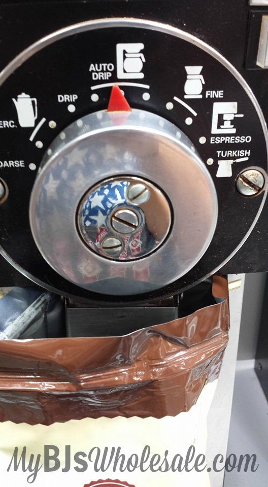 BJs coffee grinder how to grind coffee