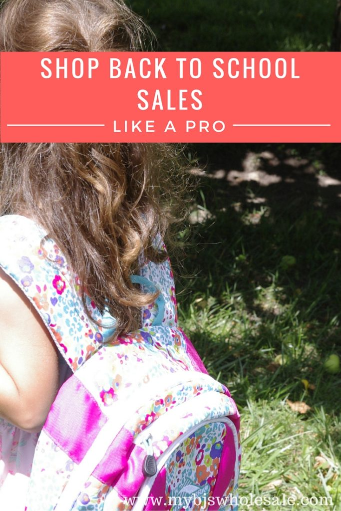 shop back to school sales like a pro