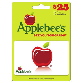 $25 Applebee's Gift Card ONLY $19.99!