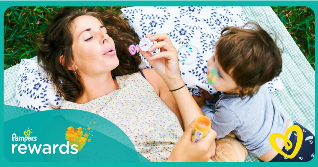 pampers gift to grow rewards program