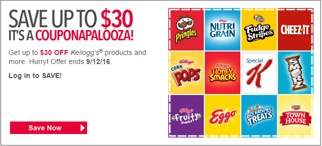 save $30 worth in kelloggs coupon plus stack BJs coupons too
