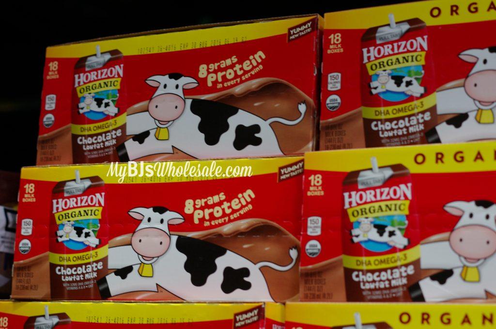 BJs organic Horizon Chocolate milk deal
