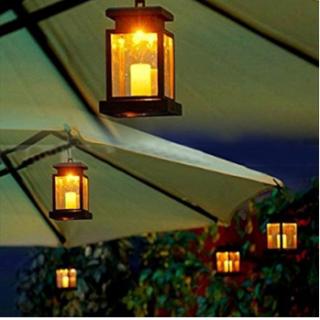 Solar Vintage Lantern deal on Amazon