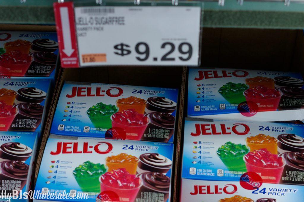 jhello sugar free pudding deal at BJs