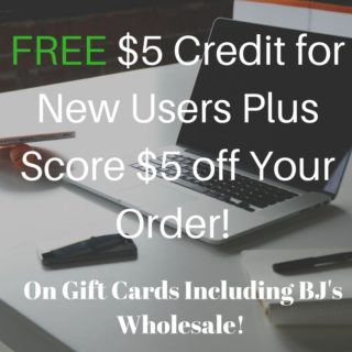 free $5 credit for new raise.com users
