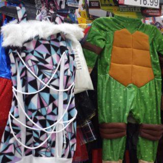 BJ's Halloween costumes and decor
