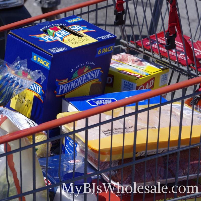 must buy items at BJs Wholesale club