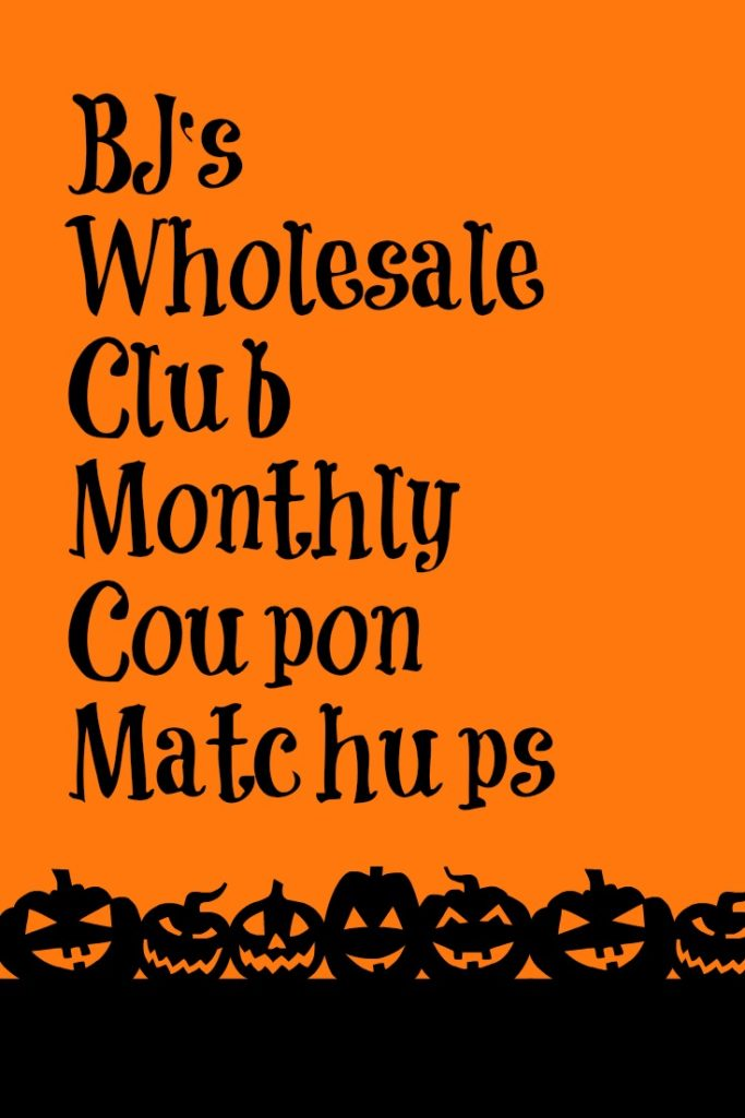 BJ's Wholesale Club Monthly Coupon Matchups 9/29/-10/31: www.mybjswholesale.com/2016/09/bjs-wholesale-club-monthly-coupon...