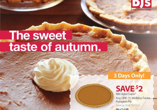 Wellsley Farms pumpkin pie