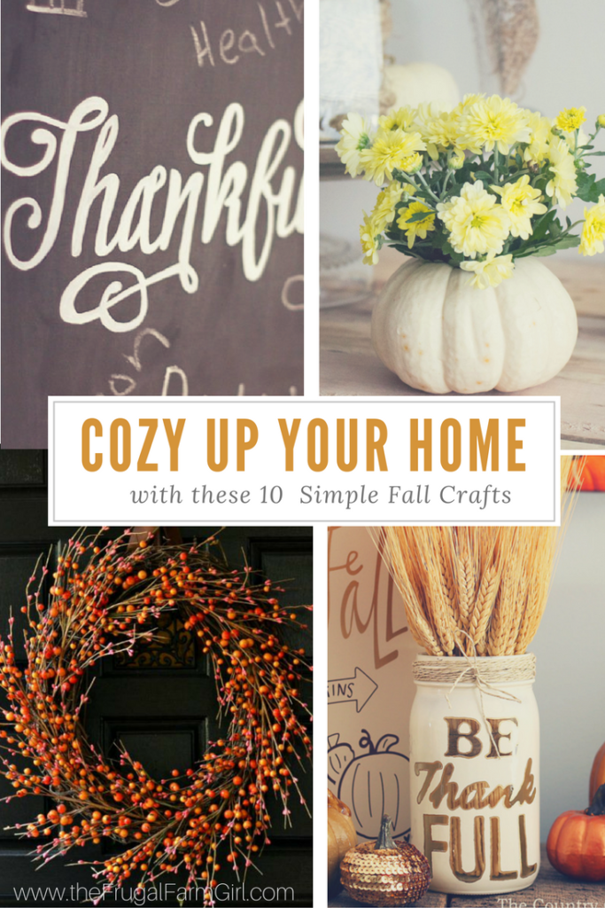 10 fall crafts roundup
