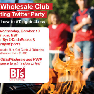 tailgate twitter party BJs wholesale club