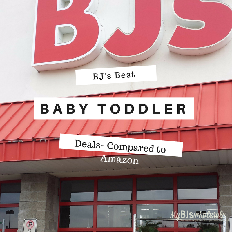 best baby deals compared to amazon and BJs