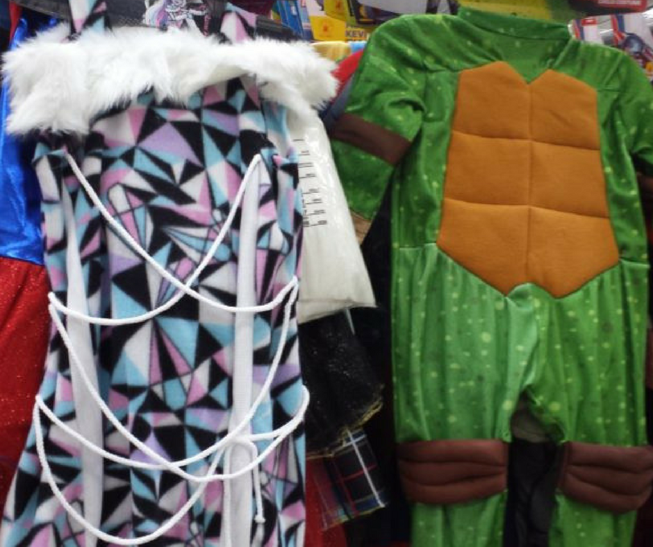 halloween costumes marked down