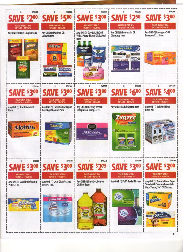 graphic about Neilmed $2 Printable Coupons named BJs Wholesale Refreshing Entrance of Club Coupon Matchups for 10/13