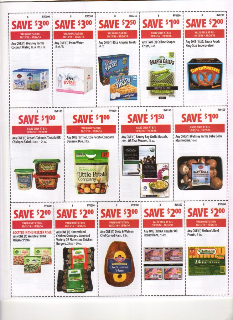 image relating to Neilmed $2 Printable Coupons identified as BJs Wholesale Contemporary Entrance of Club Coupon Matchups for 10/13