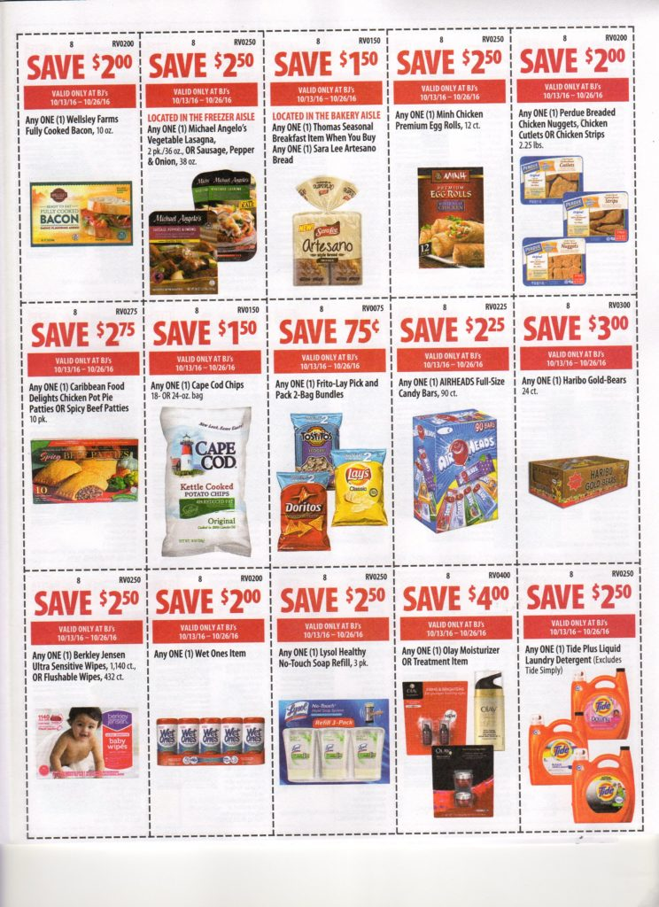 graphic relating to Neilmed $2 Printable Coupons referred to as BJs Wholesale Contemporary Entrance of Club Coupon Matchups for 10/13