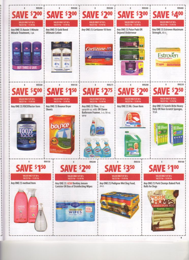 Bj's wholesale club coupons