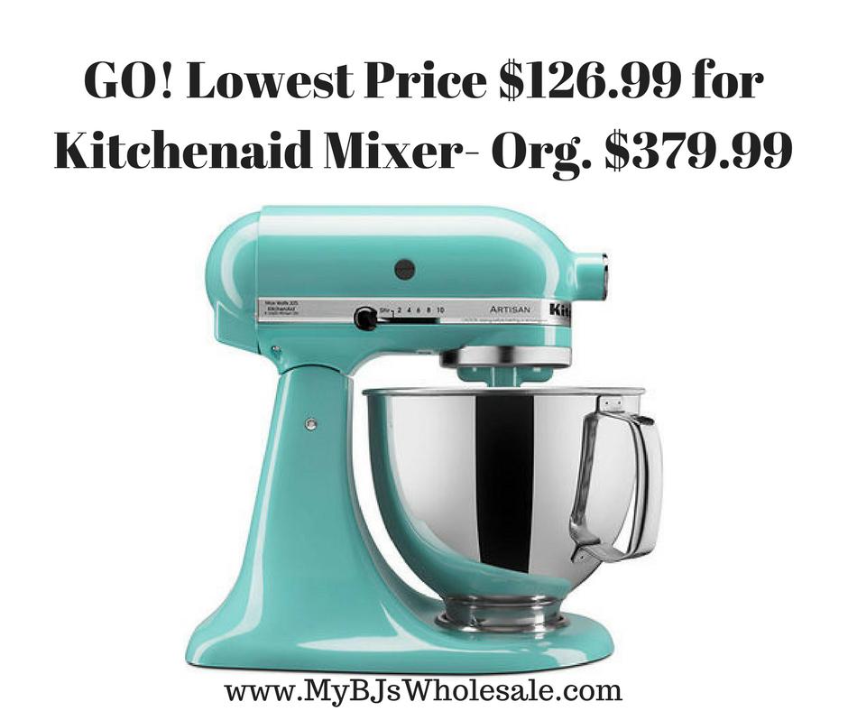 kohls kitchenaid stand up mixer