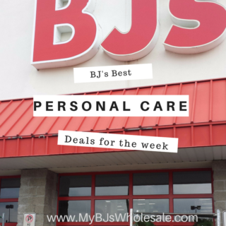 Personal Care Deals at BJ's
