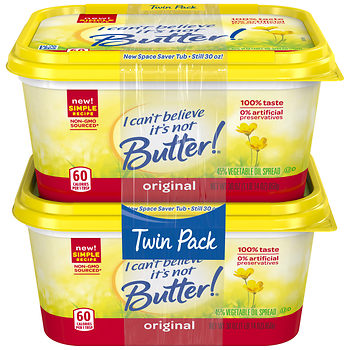 i can't believe its not butter