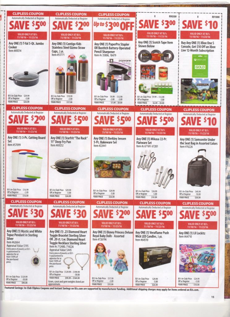 photo relating to Bjs Printable Pass called Bj wholesale club coupon matchups : Promotions inside of las vegas