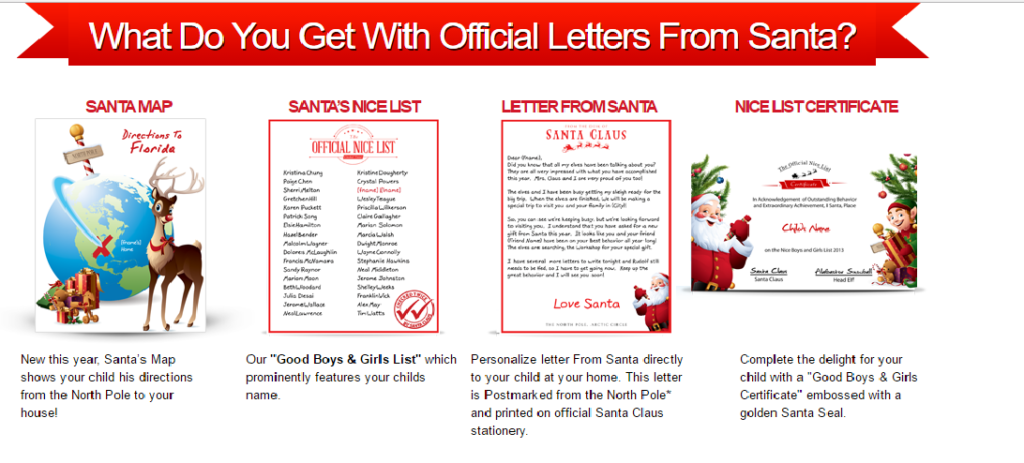 Get letters from santa package for 30 off limited time for Cheap letters from santa claus